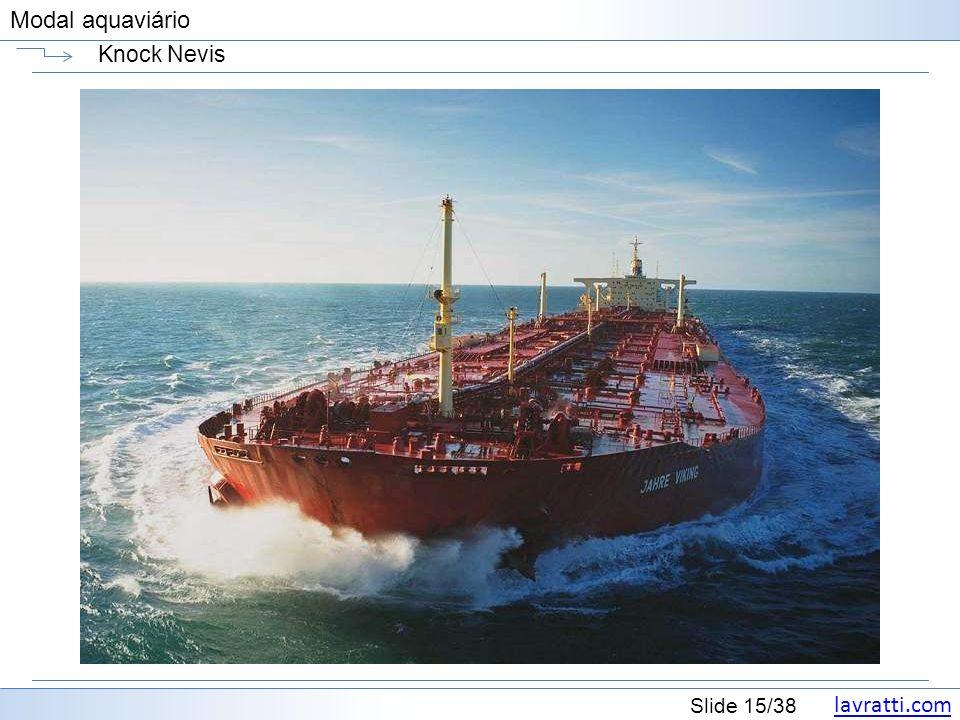 lavratti.com Slide 15/38 Modal aquaviário Knock Nevis