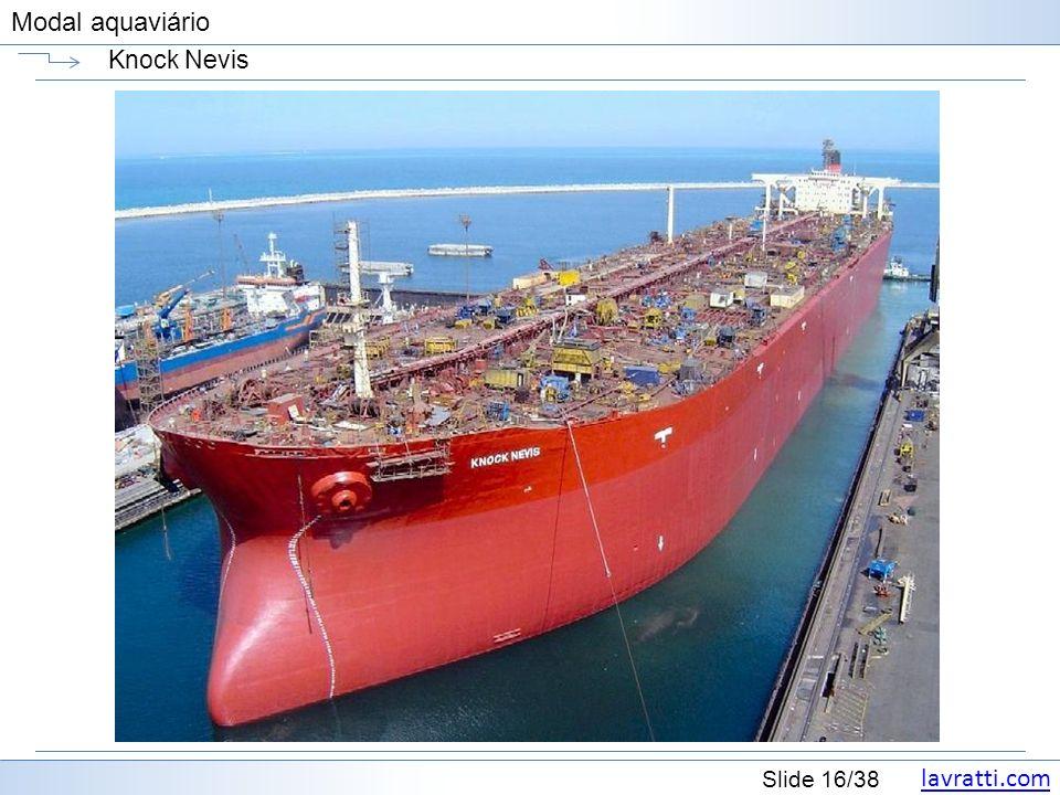 lavratti.com Slide 16/38 Modal aquaviário Knock Nevis
