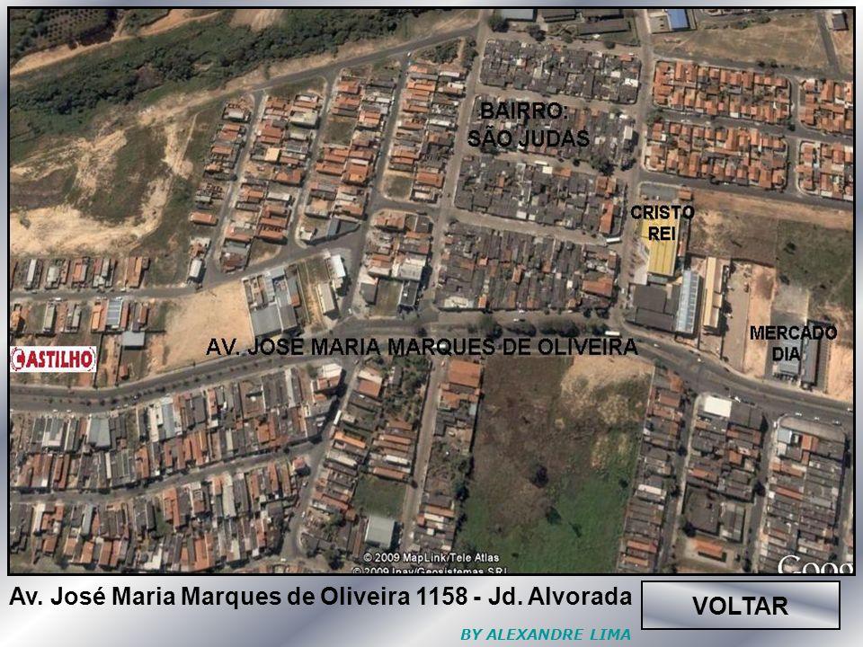 VOLTAR Av. José Maria Marques de Oliveira 1158 - Jd. Alvorada BY ALEXANDRE LIMA