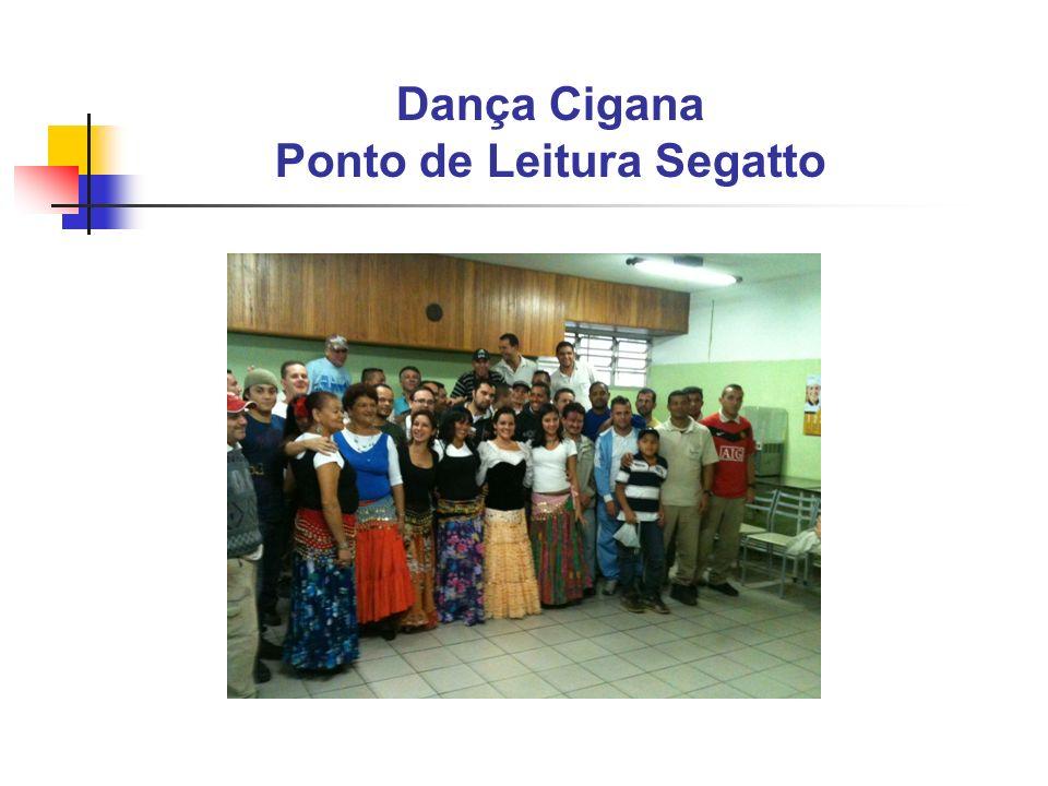 Dança Cigana Ponto de Leitura Segatto