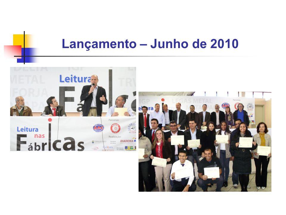 Lançamento – Junho de 2010