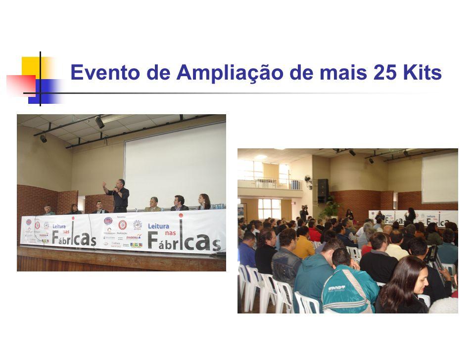 Evento de Ampliação de mais 25 Kits