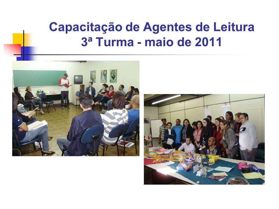Capacitação de Agentes de Leitura 3ª Turma - maio de 2011