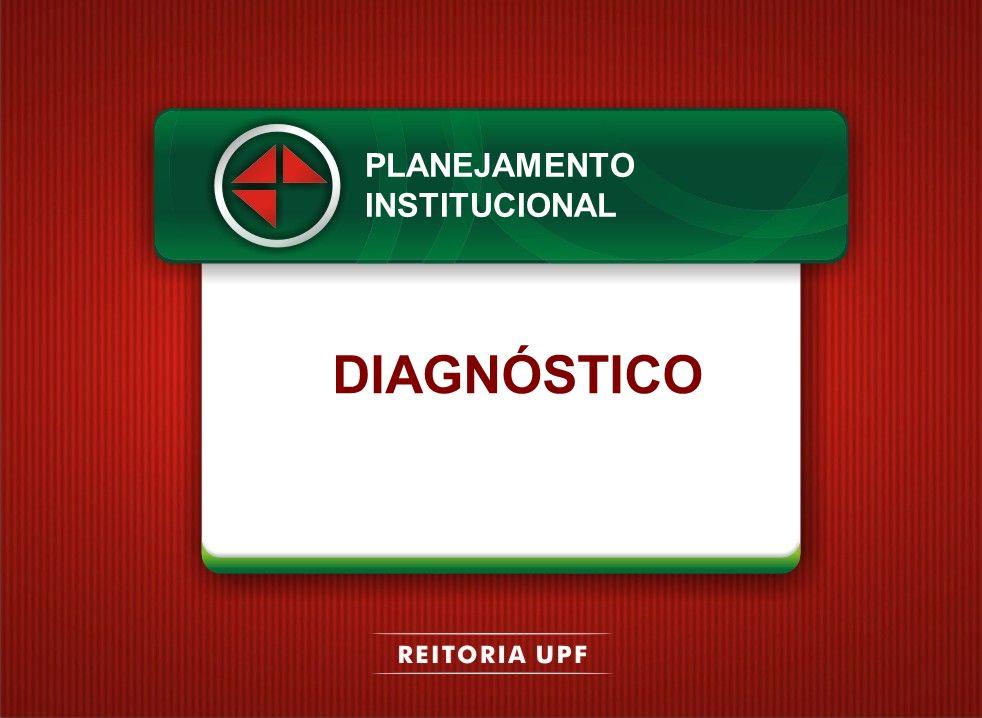 DIAGNÓSTICO PLANEJAMENTO INSTITUCIONAL