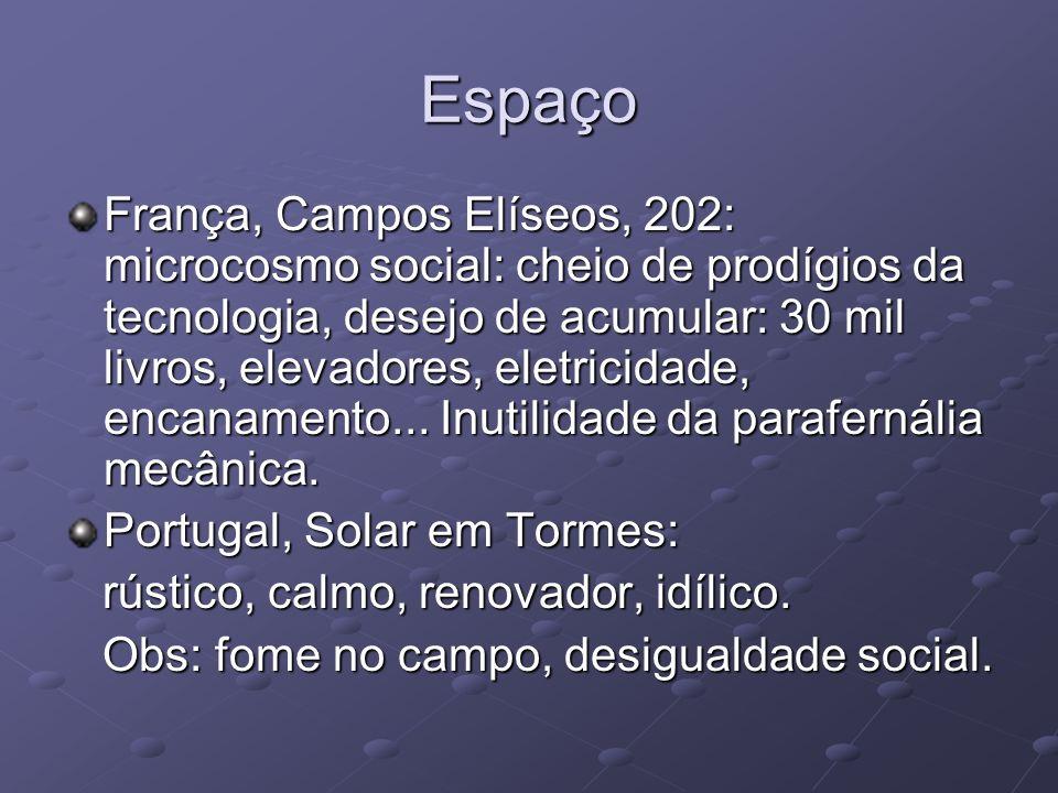 Espaço França, Campos Elíseos, 202: microcosmo social: cheio de prodígios da tecnologia, desejo de acumular: 30 mil livros, elevadores, eletricidade,