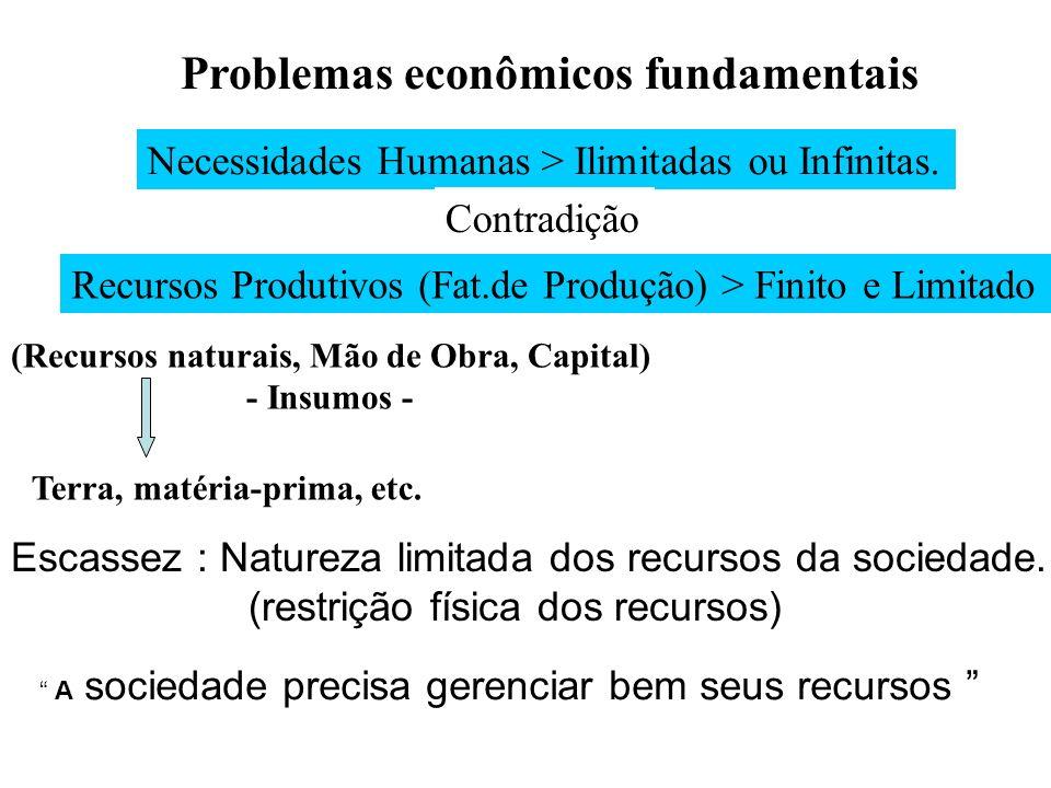- COMBINAÇÃO DOS FATORES DE PRODUÇÃO- + + = - Podemos então definir de certo modo a ECONOMIA como sendo o processo que combina fatores de produção para criar bens e serviços.