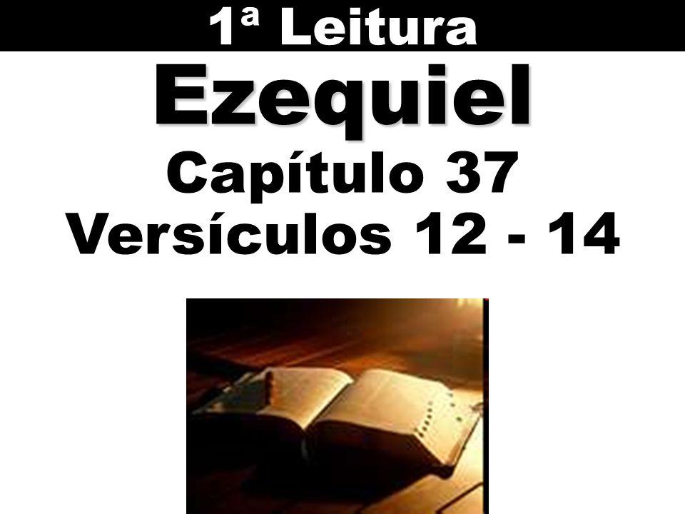 Ezequiel Capítulo 37 Versículos 12 - 14 1ª Leitura