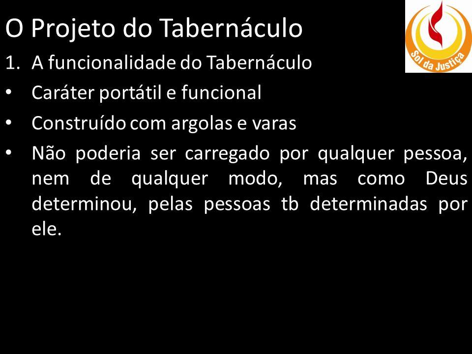 O Projeto do Tabernáculo 2.