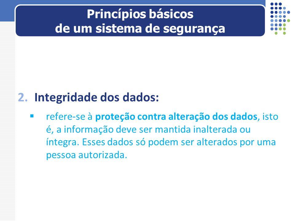 3.Disponibilidade de dados: refere-se à proteção contra a interrupção do acesso a dados ou serviços.