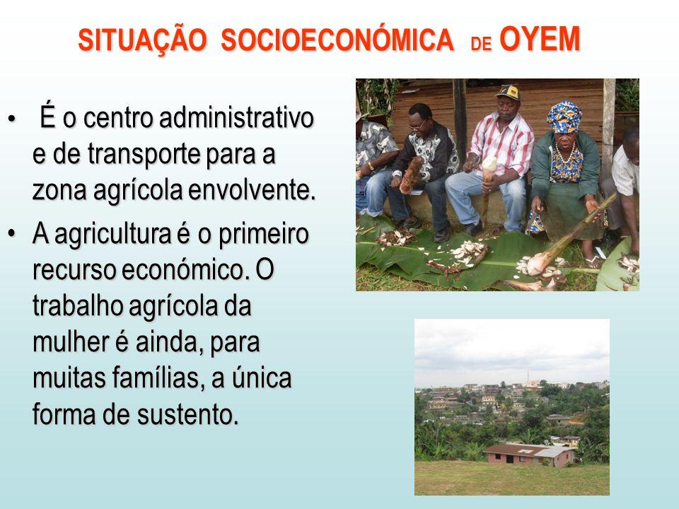 É o centro administrativo e de transporte para a zona agrícola envolvente.