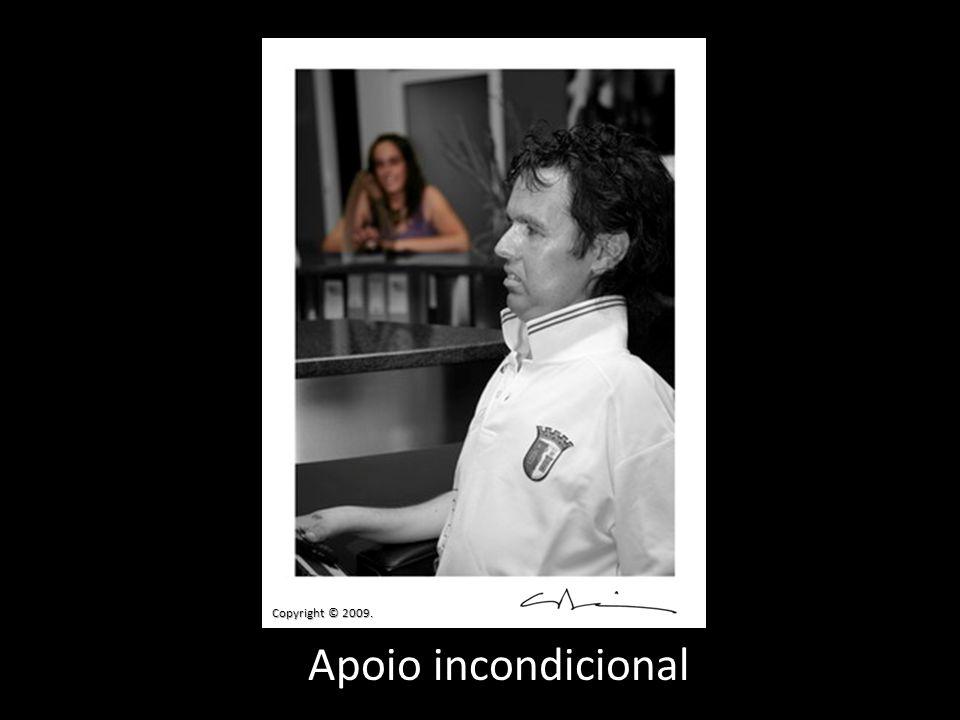 Apoio incondicional Copyright © 2009.