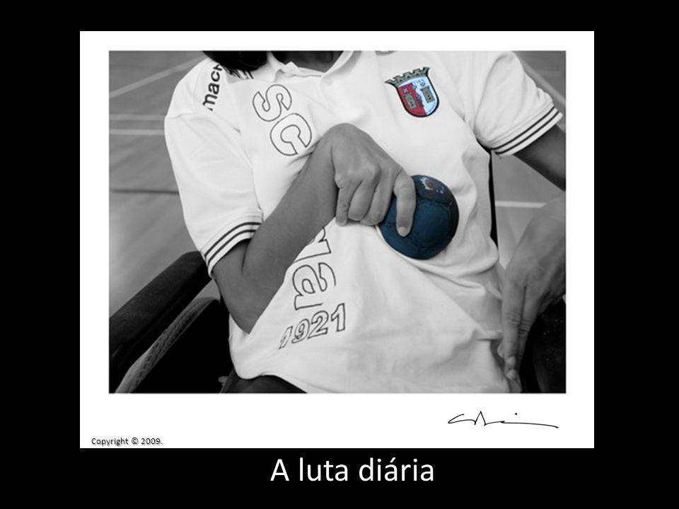 A luta diária Copyright © 2009.
