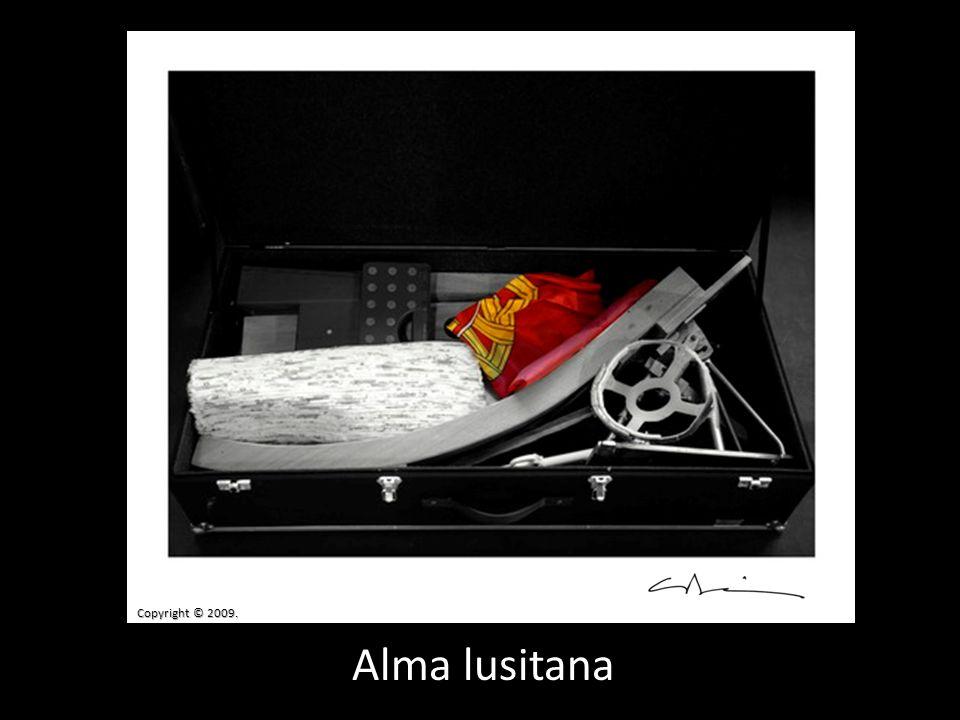 Alma lusitana Copyright © 2009.