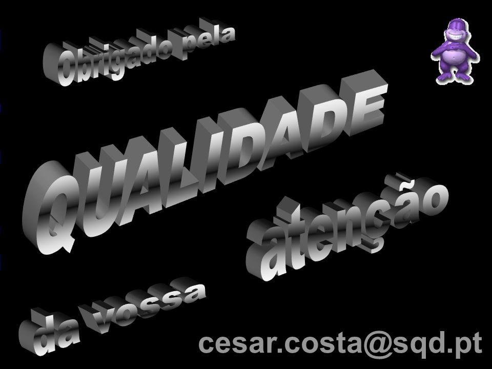 Qualidade ! (... Capacidade de sorrir e fazer sorrir os outros.) um recurso de custos reduzidos cesar.costa@sqd.pt