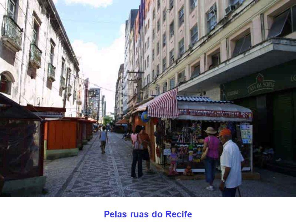 Pelas ruas do Recife