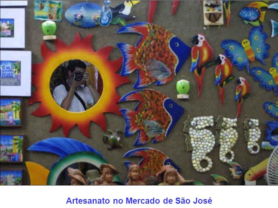 Artesanato no Mercado de São José