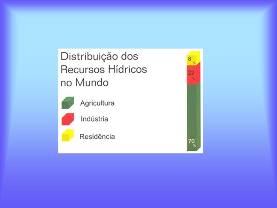 A Situação da Água no Brasil Brasil detém 11,6% da água doce superficial do mundo.