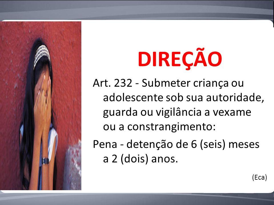 DIREÇÃO Art.