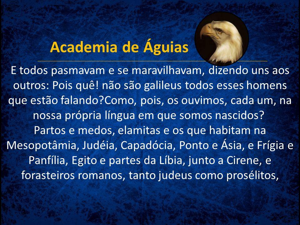 Academia de Águias Isto foi profetizado a respeito do Reino.