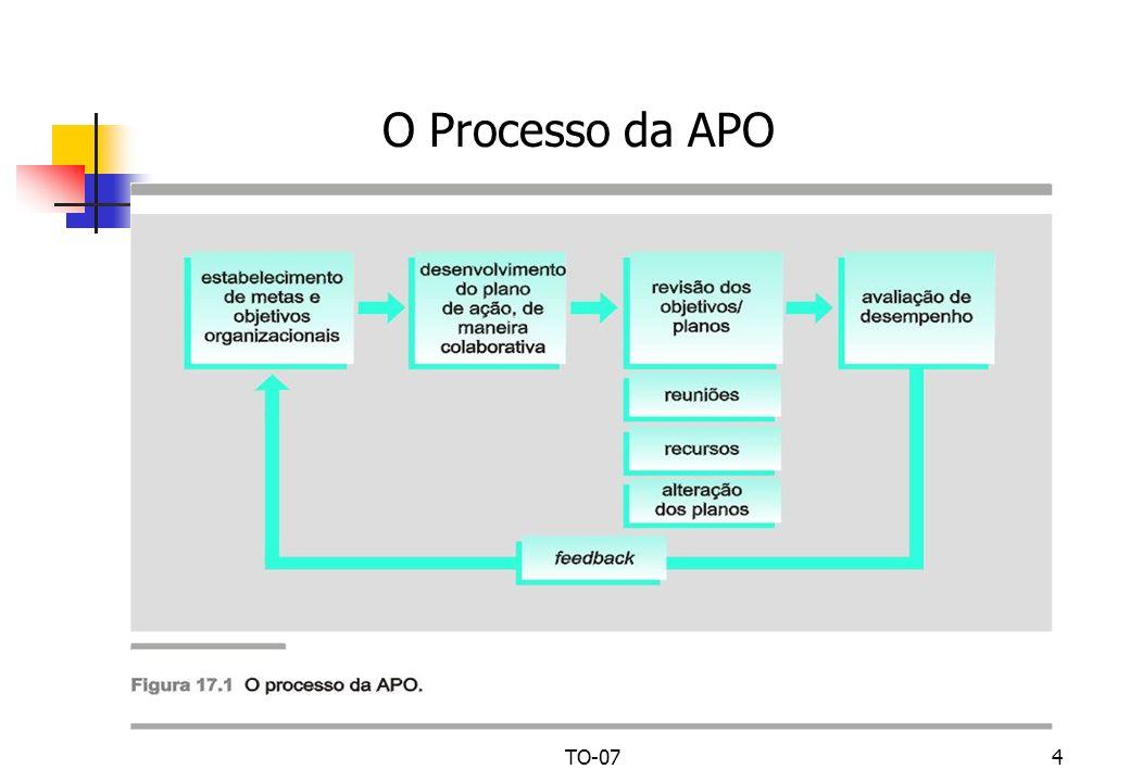 TO-074 O Processo da APO