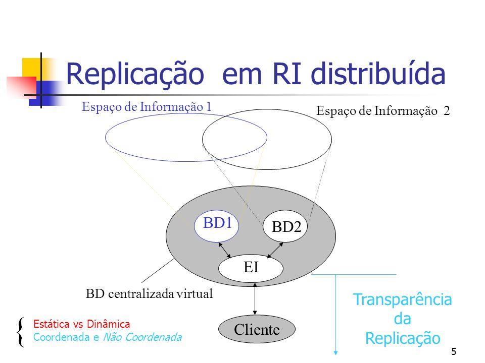 4 Contexto da tese BDT K BDT 2 BDT 1 EI BDT N BDT distribuída Cliente Espaços de Informação