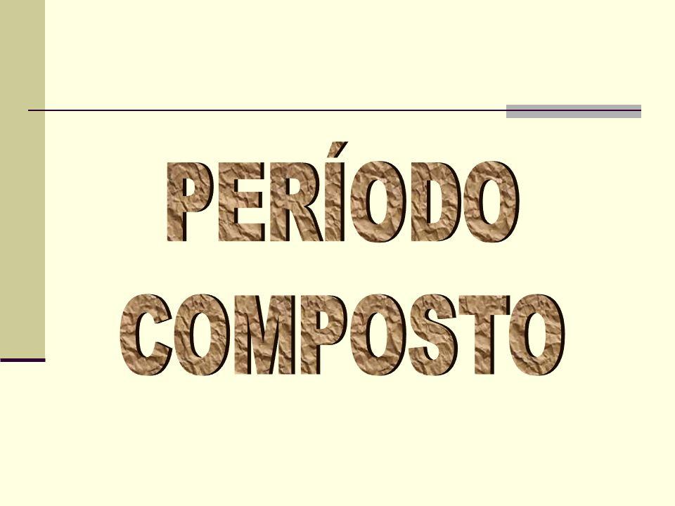 Há dois tipos de período composto: PERÍODO COMPOSTO POR COORDENAÇÃO formado por orações coordenadas, que são orações sintaticamente independentes entre si.