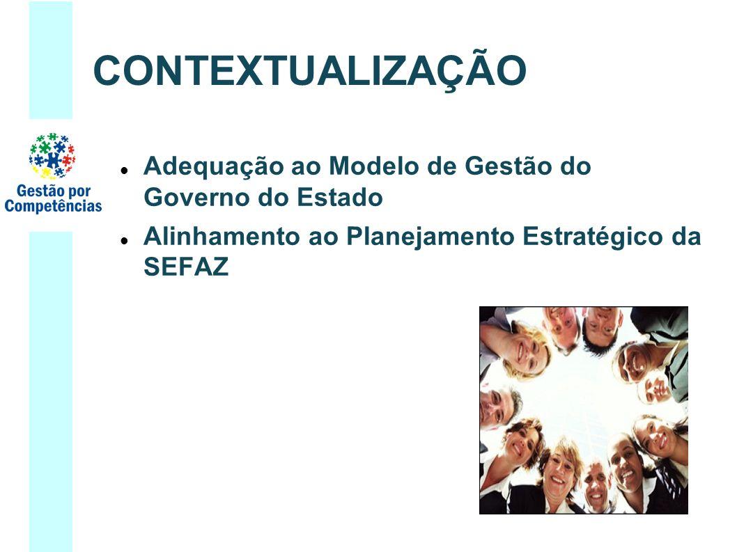 Adequação ao Modelo de Gestão do Governo do Estado Alinhamento ao Planejamento Estratégico da SEFAZ CONTEXTUALIZAÇÃO