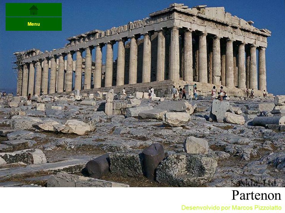 Partenon Menu Desenvolvido por Marcos Pizzolatto