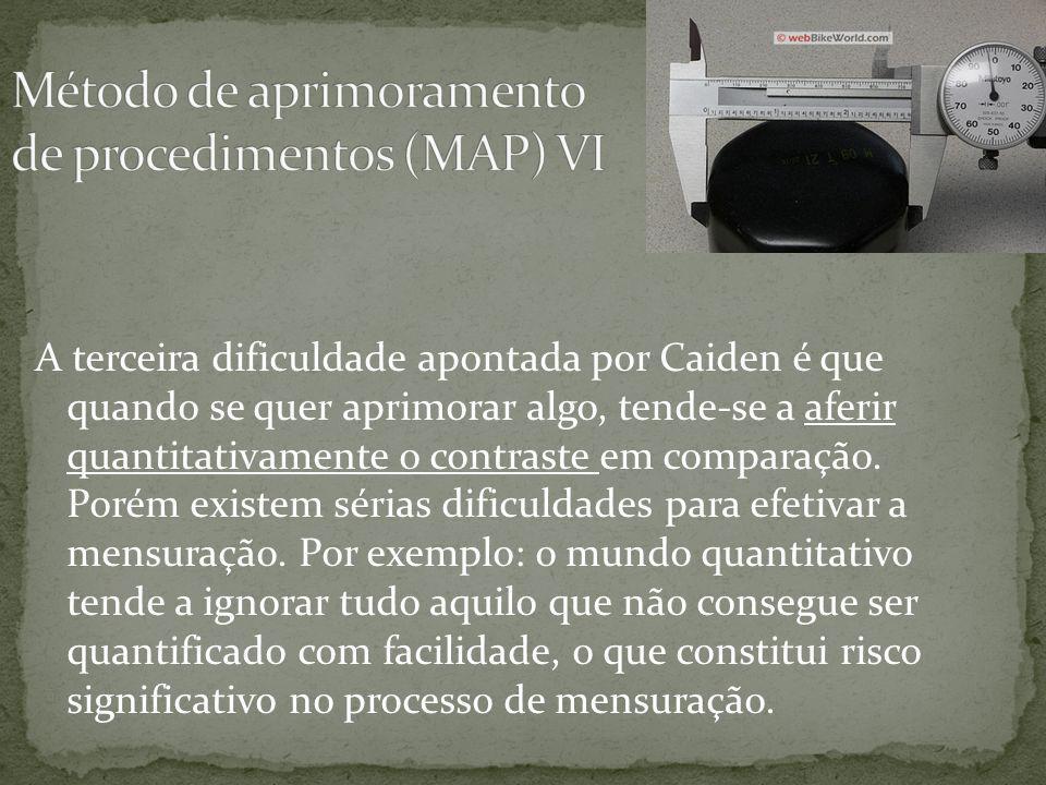 A quarta dificuldade, ainda segundo Caiden, se relaciona com a dificuldade de delimitar a área de administração a ser comparada.