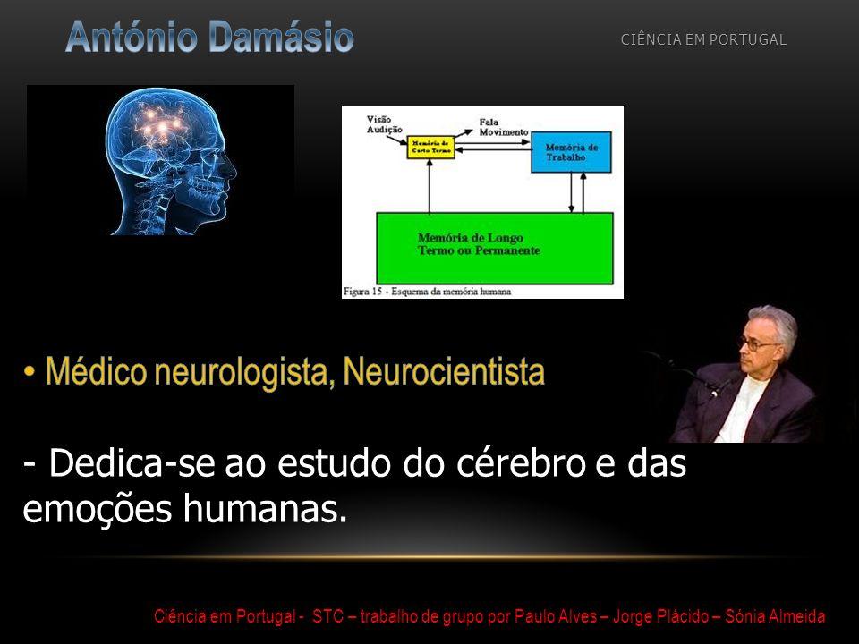 CIÊNCIA EM PORTUGAL Ciência em Portugal - STC – trabalho de grupo por Paulo Alves – Jorge Plácido – Sónia Almeida