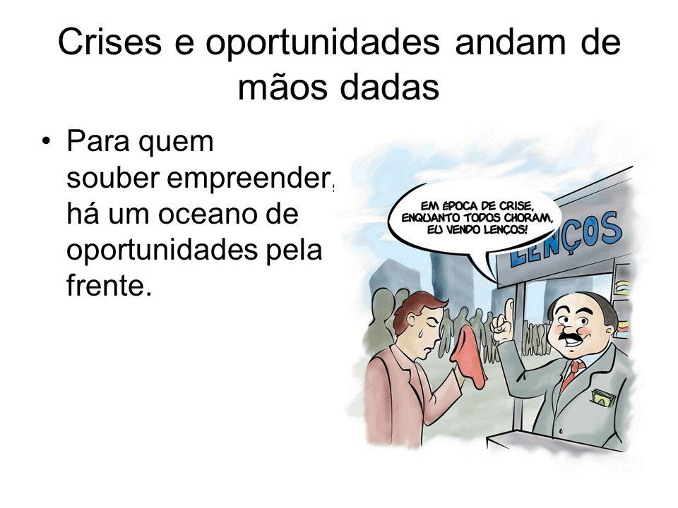 O empreendedores brasileiros inovam.