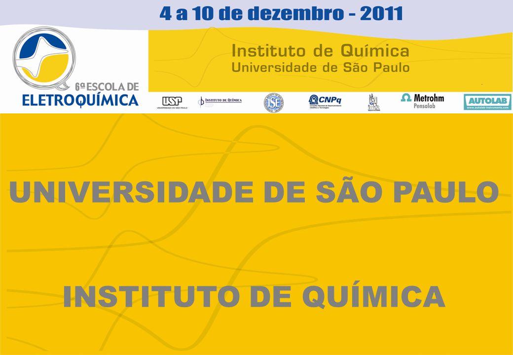 UNIVERSIDADE DE SÃO PAULO INSTITUTO DE QUÍMICA