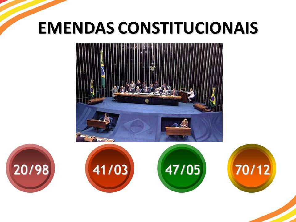 EMENDAS CONSTITUCIONAIS 20/9841/0347/05 70/12