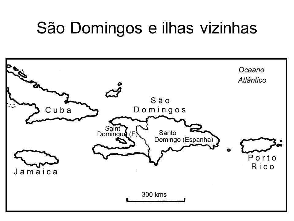São Domingos e ilhas vizinhas