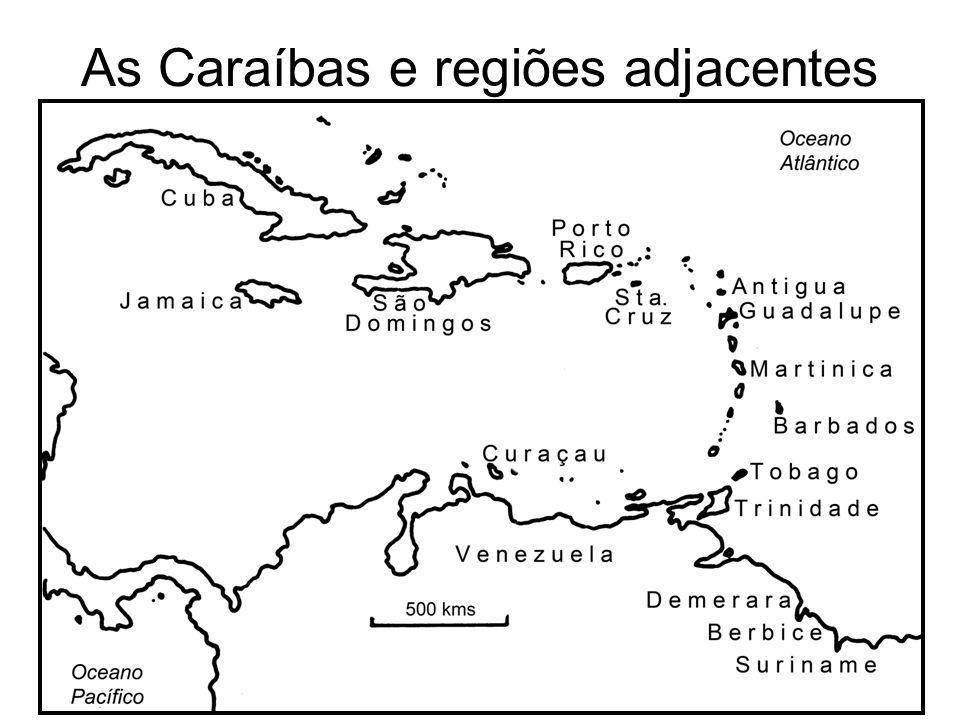 As Caraíbas e regiões adjacentes