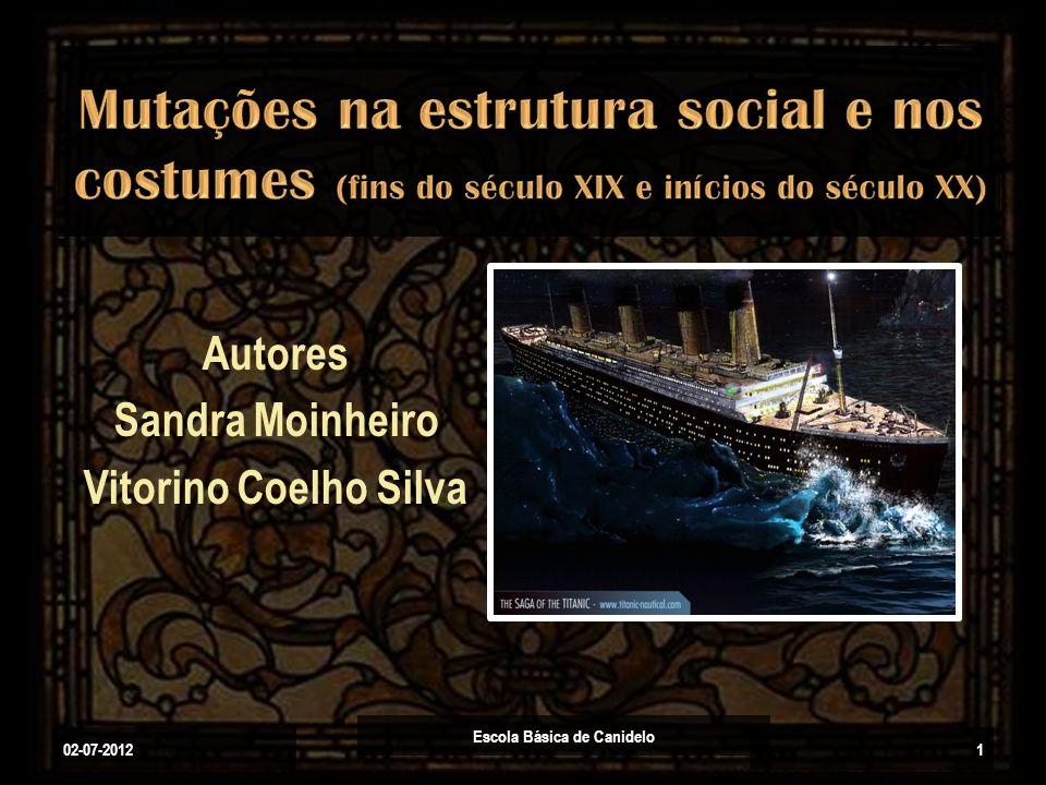 Autores Sandra Moinheiro Vitorino Coelho Silva 02-07-2012 Escola Básica de Canidelo 1