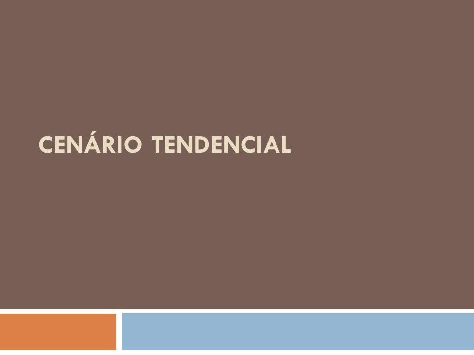 CENÁRIO TENDENCIAL