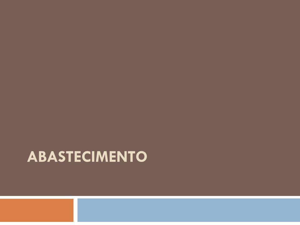 Demandas per capita – cenário normativo Extratos da população (nº de habitantes) Per capitas (l/hab/dia) PerdasTotal (per capita+perdas) 0 a 5.00012035%185 5.000 a 25.00013035%200 25.000 a 100.00013535%208 100.000 a 500.00018035%277 Acima de 500.00020035%308 Redução das perdas de 40% (cenário tendencial) para 35%