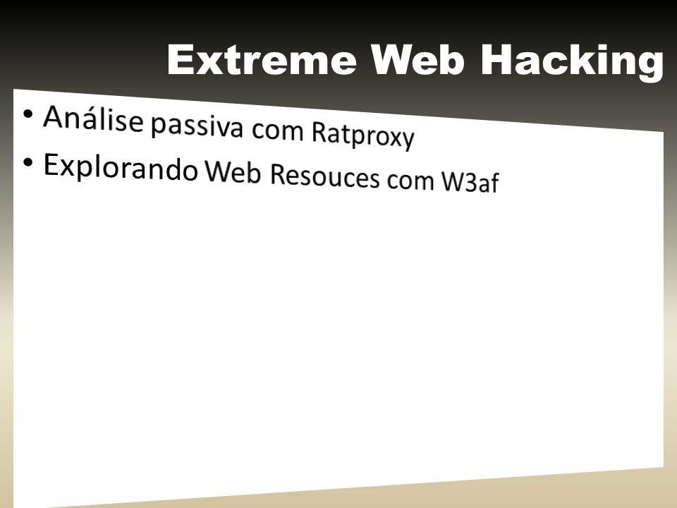 Extreme Web Hacking