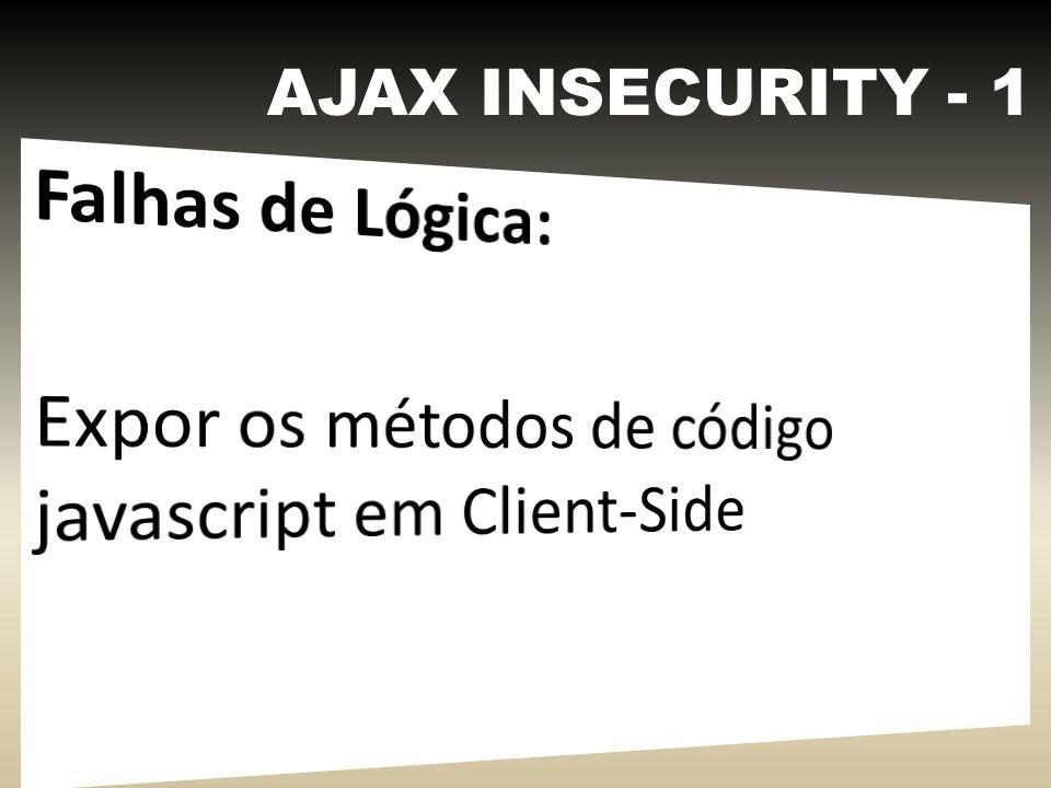 AJAX INSECURITY - 2