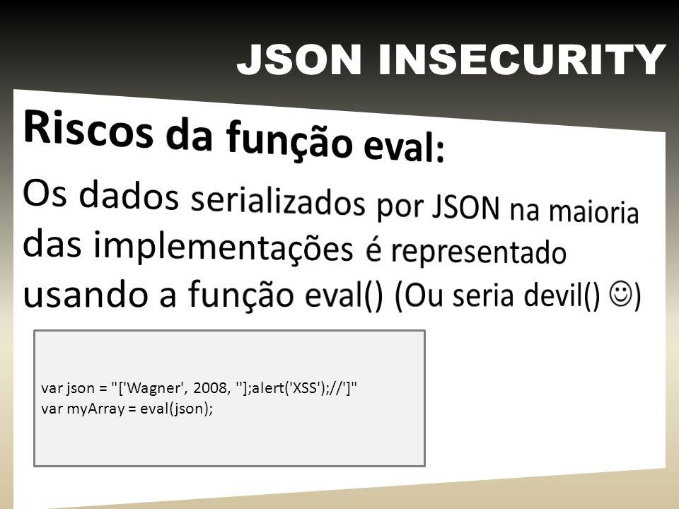 XML INSECURITY - 1 <!DOCTYPE foo [ ]> &xxe;