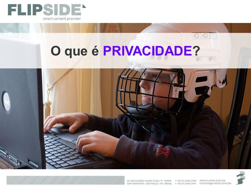 Wikipedia Privacidade é a habilidade de uma pessoa em controlar a exposição e a disponibilidade de informações acerca de si.