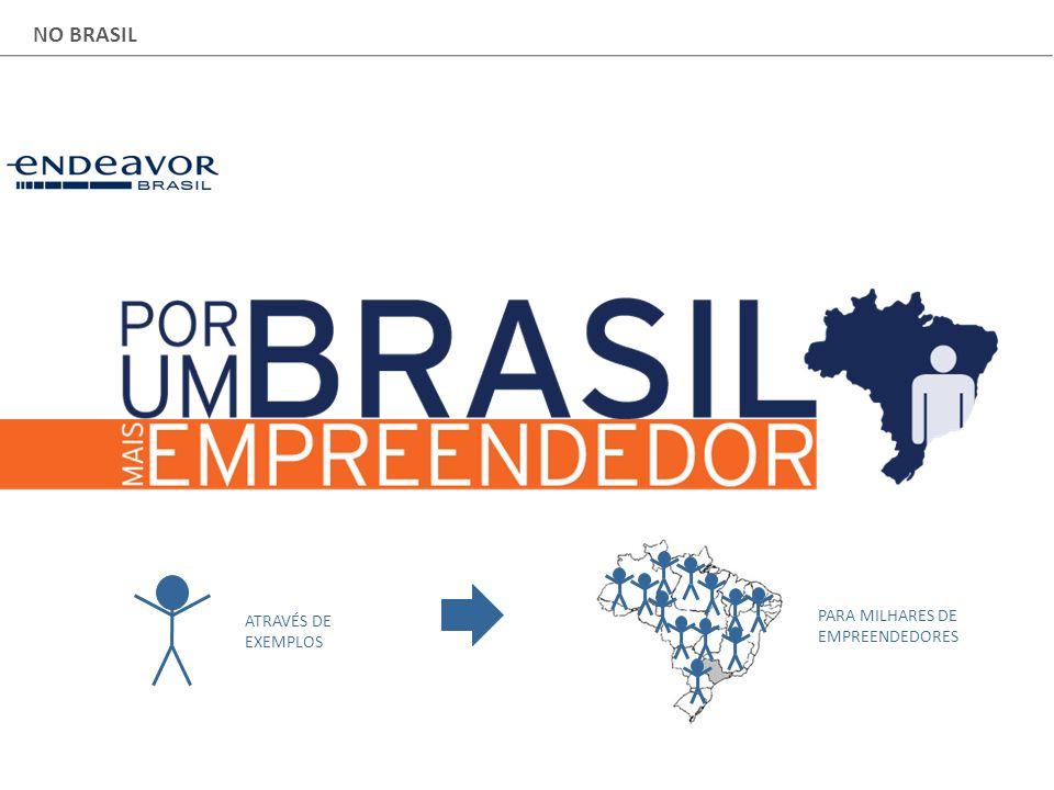 NO BRASIL ATRAVÉS DE EXEMPLOS PARA MILHARES DE EMPREENDEDORES
