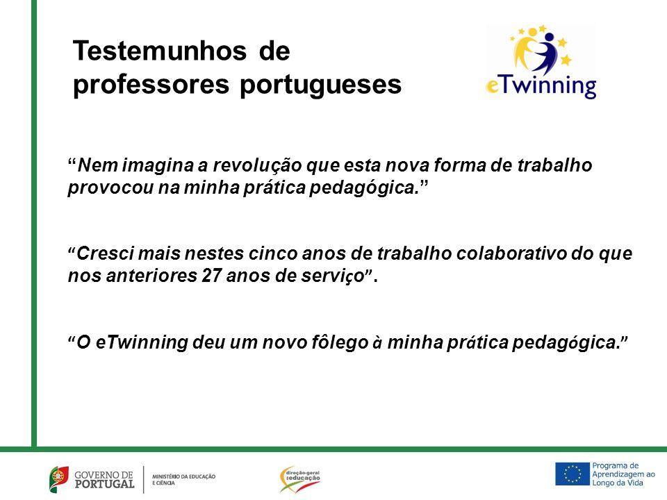 Maria José Silva Jardim de Infância de Porto Mós 5 parceiros Vencedores dos Prémios Europeus