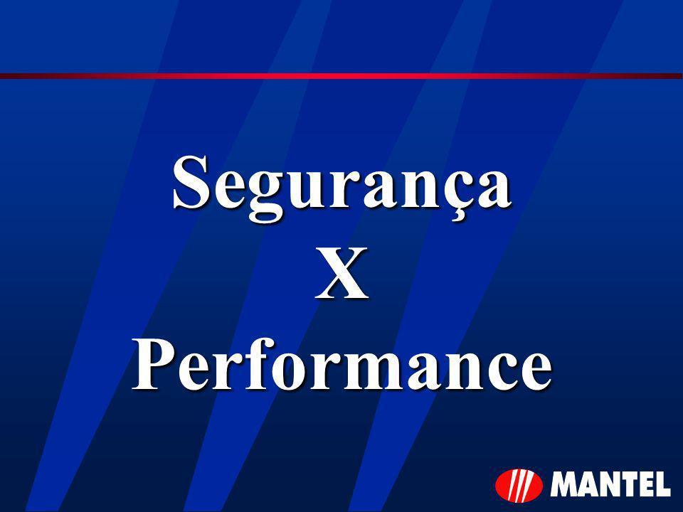 Segurança X Performance