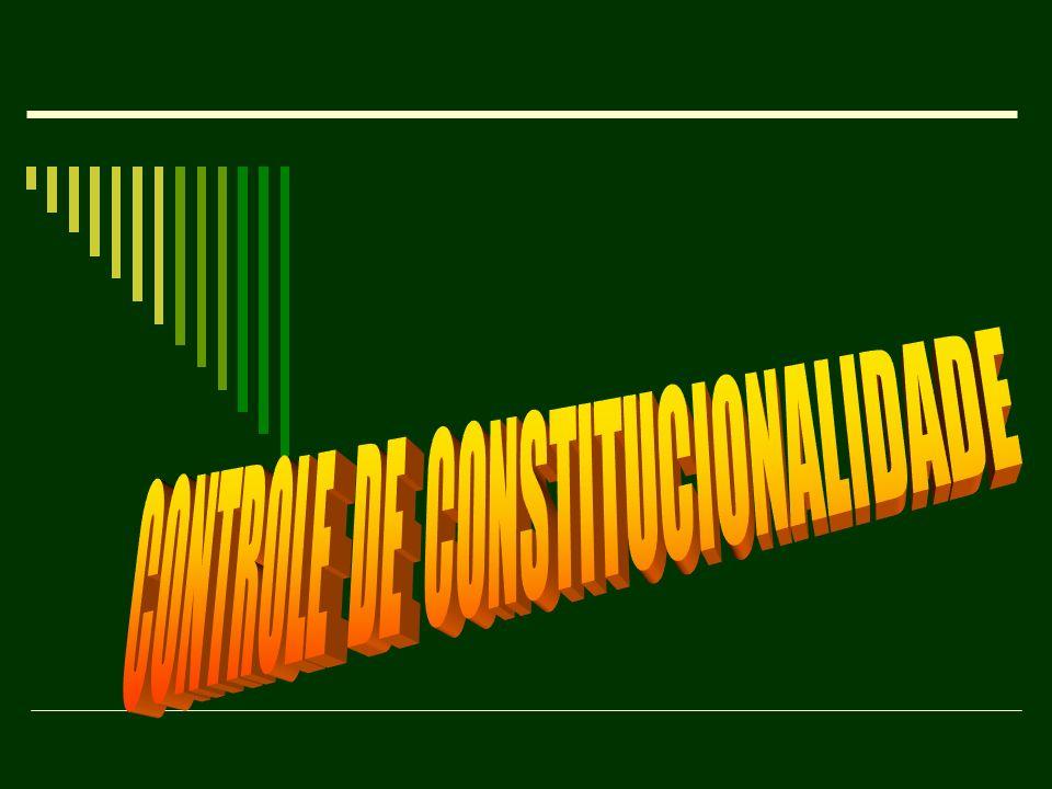 ADC – ação declaratória de constitucionalidade Objeto: Lei ou ato normativo federal Legitimados ativos: os mesmos da Adin genérica Efeitos (regra): os mesmos da Adin genérica Medida cautelar: possível Pré-requisito: comprovação da controvérsia Nível estadual: não há previsão atualmente