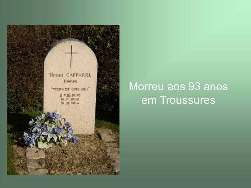 25 de Abril de 2006 – Arquidiocese de Paris – Abertura oficial do processo de beatificação – Título de Servo de Deus; apresentado no Encontro de Lourdes em Setembro de 2006.
