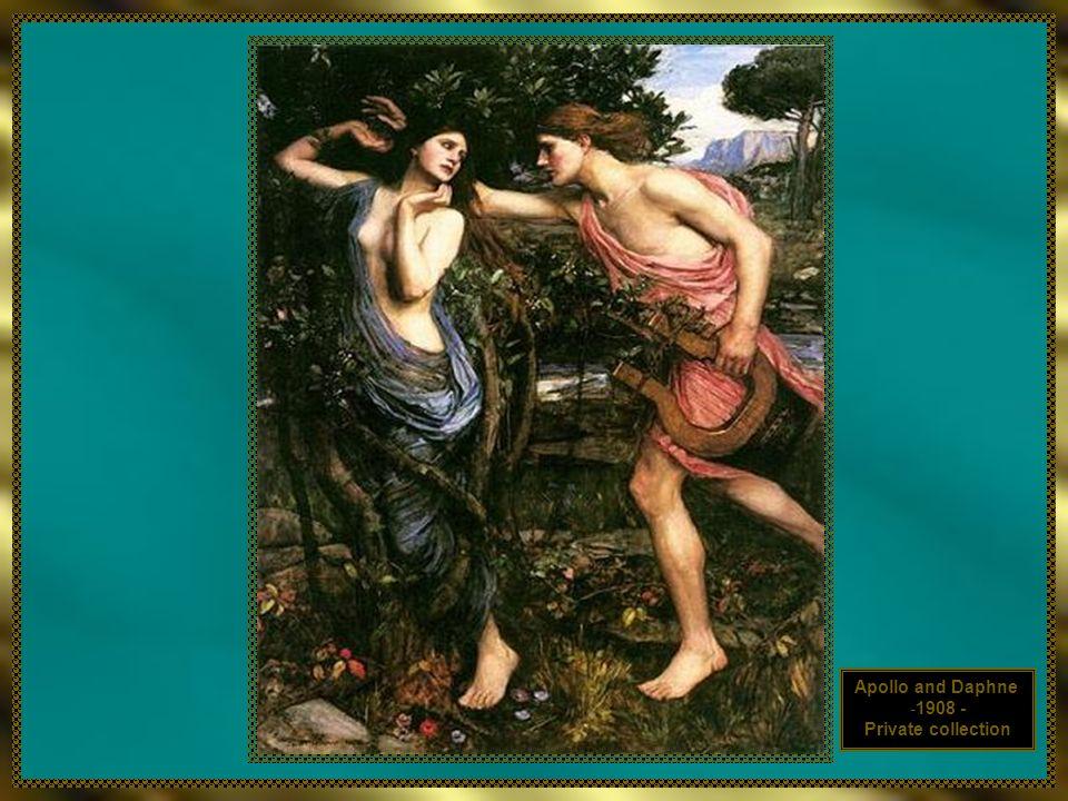 Apollo and Daphne -1908 - Private collection