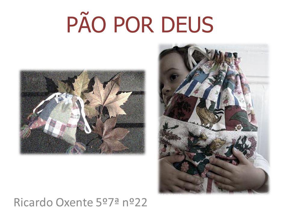 PÃO POR DEUS Ricardo Oxente 5º7ª nº22