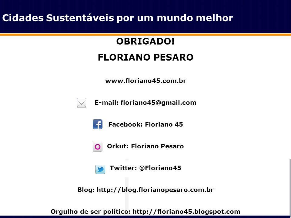Classe Média OBRIGADO! FLORIANO PESARO www.floriano45.com.br E-mail: floriano45@gmail.com Facebook: Floriano 45 Orkut: Floriano Pesaro Twitter: @Flori